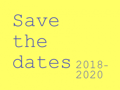 save the dates ENCC 2018-2020