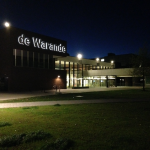 De Warande at night